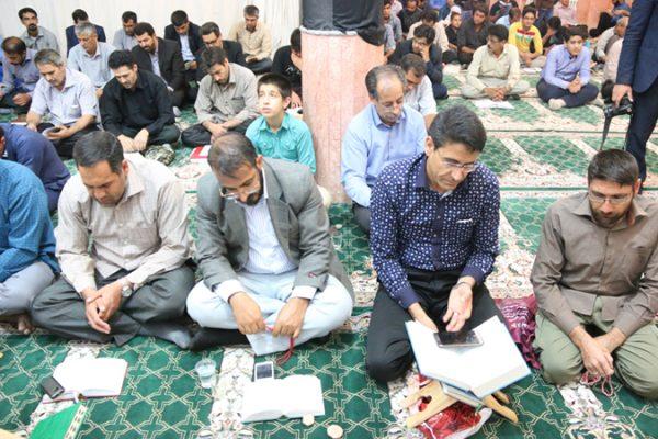 اولین شب قدر ماه مبارک رمضان 96 در مسجد شهرک یادگار امام(ره)رفسنجان