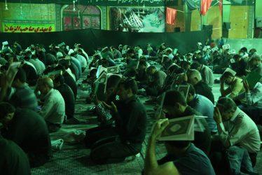 احیای شب نوزدهم ماه رمضان در حسینیه ثارالله رفسنجان / تصاویر