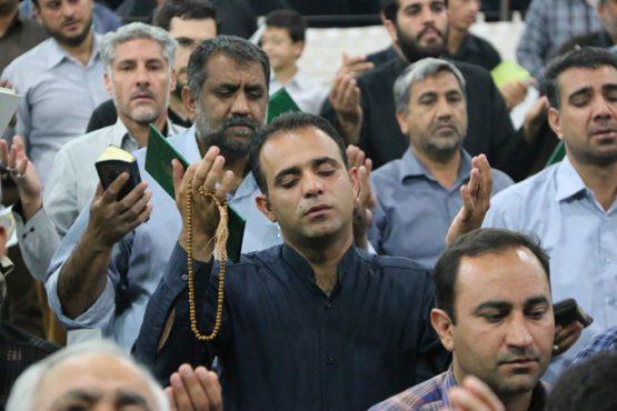 آیین معنوی اولین شب قدر رمضان ۹۶ در رفسنجان برگزار شد / تصاویر