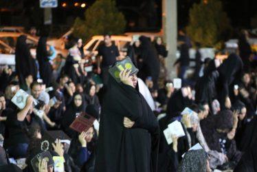 دومین شب از لیالی قدر در مساجد و تکایای رفسنجان برگزار شد / گزارش تصویری