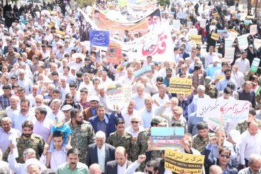 راهپیمایی روز جهانی قدس در رفسنجان آغاز شد / عکس