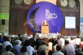 مراسم وداع با ماه مبارک رمضان در رفسنجان برگزار شد / گزارش تصویری