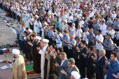 تصاویر/ اقامه نماز عید فطر در مصلی امام خامنه ای (مدظله العالی) رفسنجان