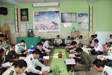 محفل انس با قرآن در ستاد فرماندهی انتظامی رفسنجان / عکس