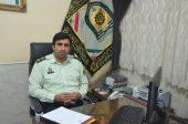 جانشین فرمانده انتظامی رفسنجان مدیر نمونه ناجا در کشور شد + عکس