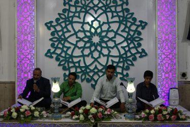 برگزاری مراسم جزء خوانی قرآن کریم در حسینیه ماهونک رفسنجان / عکس