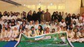 مسابقات کاراته بانوان جام رمضان در رفسنجان برگزار شد