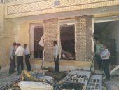 انفجار منزل مسکونی در رفسنجان یک مصدوم برجای گذاشت / تصاویر