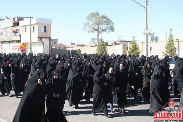 مراسم تشیع و تدفقین شهید محمد علی محمد صادقی در رفسنجان