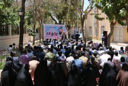 آیین استقبال از شهید محمدصادقی در فرمانداری رفسنجان برگزار شد / تصاویر
