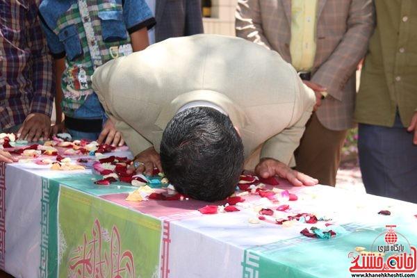 لحظات ناب استقبال از شهید محمد علی محمد صادقی در رفسنجان فرمانداری شهرستان رفسنجان