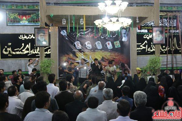 لحظات ناب استقبال و وداع با سردار شهید محمد علی محمد صادقی در روستای جنت آباد رفسنجان