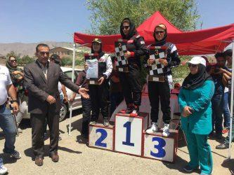 درخششی دیگر از بانوان اتومبیلران رفسنجانی/ اقدام شایسته قهرمان اتومبیلران رفسنجانی در مسابقات چندجانبه اسلالوم کشور