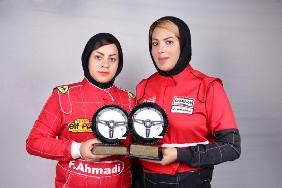 کسب دو مقام نائب قهرمانی کشوری توسط بانوان اتومبیلران رفسنجان