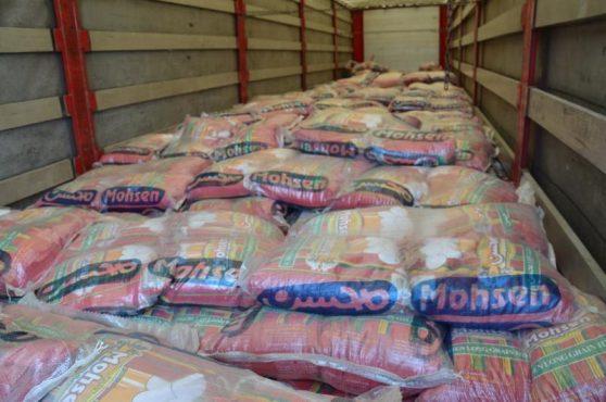 ماجرای 24 تن برنج قاچاقی که با سر سالم به رفسنجان نرسید