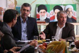 نشست خبری نماینده مردم رفسنجان به مناسبت روز خبرنگار / گزارش تصویری