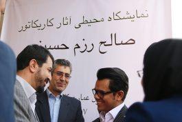 صالح رزم حسینی تا فردا در رفسنجان پابرجاست / عکس