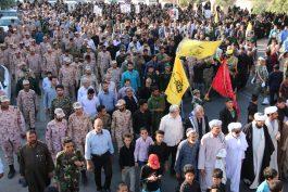 پیکر چهاردهمین شهید مدافع حرم در رفسنجان تشییع و تدفین شد/ تصاویر