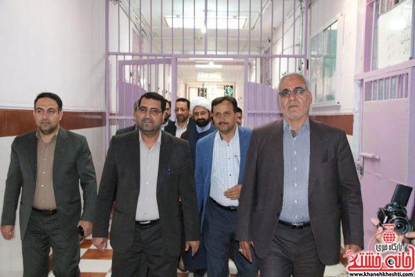 بازدیدیدالله موحدرئیس کل دادگستری استان کرمان اززندان شهرستان رفسنجان