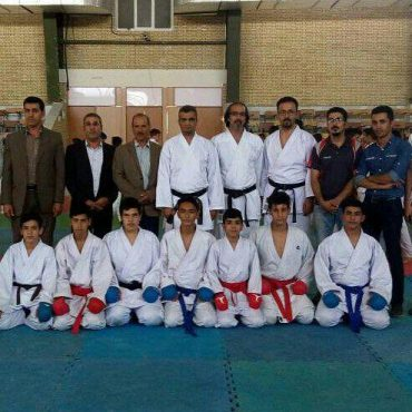 اردوی تیم ملی کاراته نونهالان کشور در رفسنجان به کار خود پایان داد / عکس