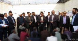 بازدید مدیرکل زندانهای و رئیس کل دادگستری استان کرمان از زندان رفسنجان