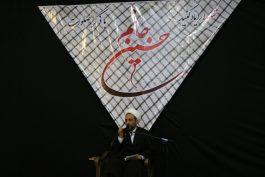 عزاداری اباعبدالله الحسین(ع) در حسینیه ثارالله رفسنجان / تصاویر