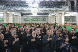 مراسم عزاداری تاسوعای حسینی در مسجد الزهرا (س) برگزار شد + تصاویر