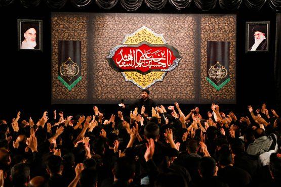 حسینیه نخل رفسنجان میزبان عزاداران امام حسین(ع) در هیات کربلا / تصاویر