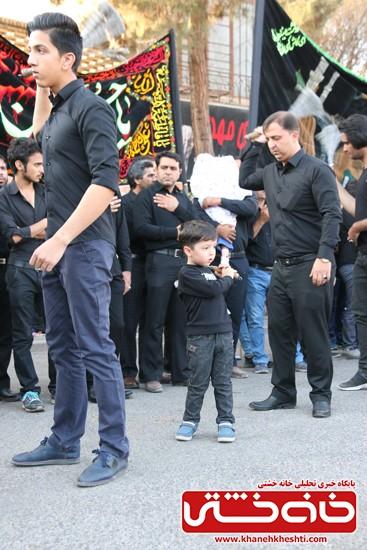 مراسم تجمع هیئت های عزاداری در میدان ابراهیم رفسنجان