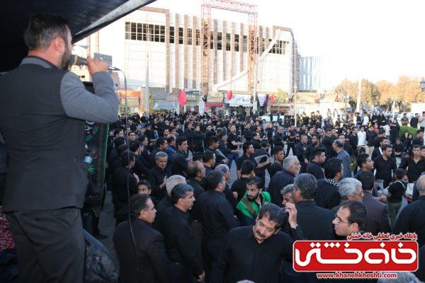 مراسم تجمع هیئت های عزاداری در میدان ابراهیم رفسنجانمراسم تجمع هیئت های عزاداری در میدان ابراهیم رفسنجان