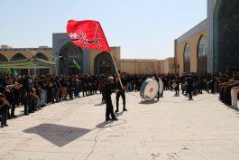 تجمع هیئات عزاداری در مسجد جامع رفسنجان در تاسوعای حسینی / گزارش تصویری