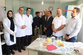 استقبال  رئیس جهاد کشاورزی رفسنجان از شرکت دانش بنیان آریا نهال