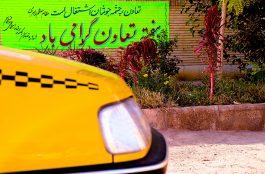 رژه تاکسی رانان رفسنجان به مناسبت هفته تعاون / گزارش تصویری