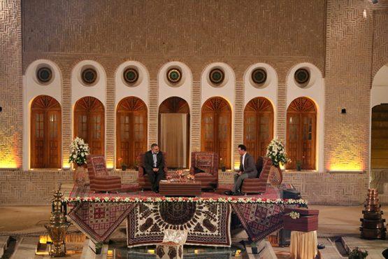 پخش زنده شبهای پرستاره کرمان از خانه خشتی رفسنجان