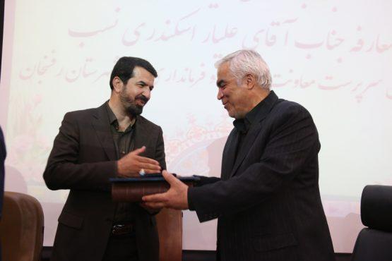 مراسم تودیع و معارفه فرماندار رفسنجان برگزار شد + تصاویر