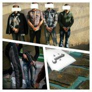 ماجرای دنباله دار انفجار در پمپ گاز کشکوئیه / ۲۰ کیلوگرم حشیش کشف و ۴ متهم بازداشت شد