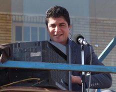 گزارشگر رفسنجانی، گزارشگر مسابقه فوتبال استقلال تهران در جام حذفی