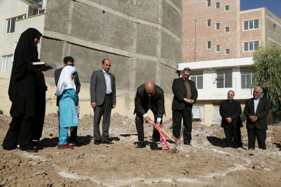 افتتاح و کلنگ زنی سه طرح آموزشی در رفسنجان / عکس