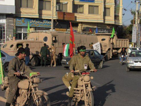 نیروهای مردمی از رفسنجان به جبهه های حق علیه باطل اعزام شدند / تصاویر
