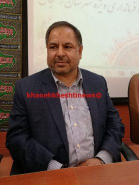 سرپرست جدید فرمانداری رفسنجان منصوب شد + تصاویر