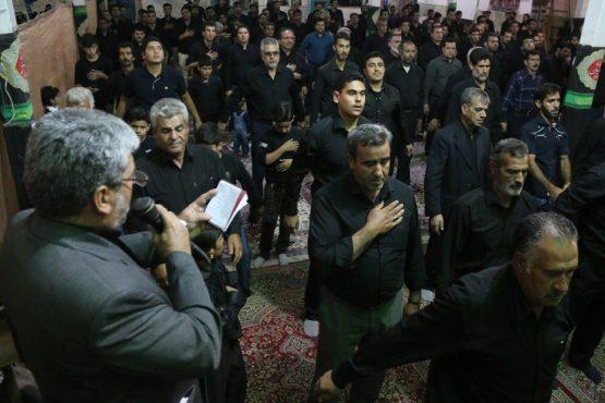 عزاداری شب عاشورا در حمید آباد رفسنجان / تصاویر