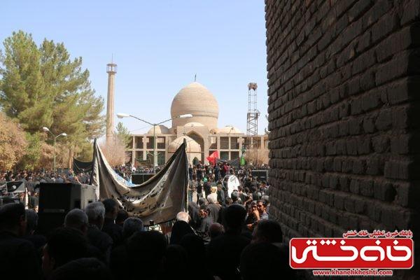 مراسم عزاداری روز عاشورا در امامزاده رضا (ع) سید غریب رفسنجان