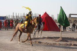 اجرای تعزیه روز تاسوعا در مصلی امام خامنه ای رفسنجان/ تصاویر