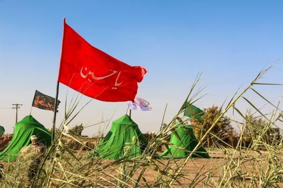 علمدار کربلا در فتح آباد رفسنجان