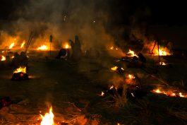 شام غریبان آتش به دامان میدان مرحوم ایت الله هاشمی انداخت