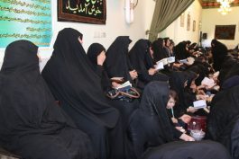 مجلس عزای امام سجاد(ع) در حسینیه رحمت آباد رفسنجان برپا شد / گزارش تصویری
