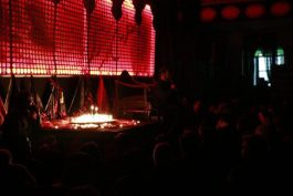 شام غریبان در بیت العباس رفسنجان / تصاویر