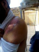 ضرب و شتم روحانی آمر به معروف در رفسنجان + عکس
