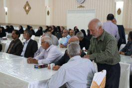 مراسم تجلیل از بازنشستگان دانشگاه علوم پزشکی رفسنجان/ تصاویر