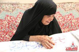 مادر شهید غواص غلامرضا آخوندی به فرزند شهیدش پیوست + عکس